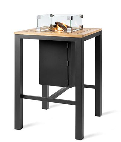 Happy Cocoon Aluminium Square Bar Table