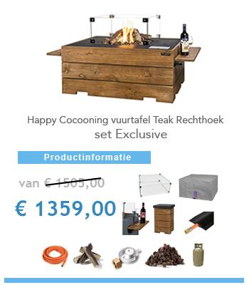 complete vuurtafel Happy Cocoon
