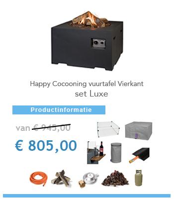 complete set happy cocoon vuurtafels