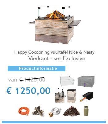 complete vuurtafel Happy Cocooning