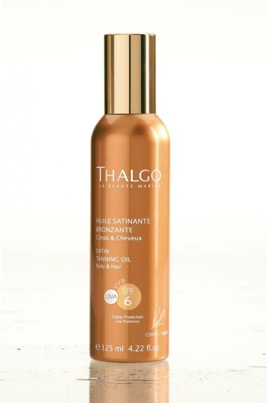 Satin Tanning Oil SPF 6