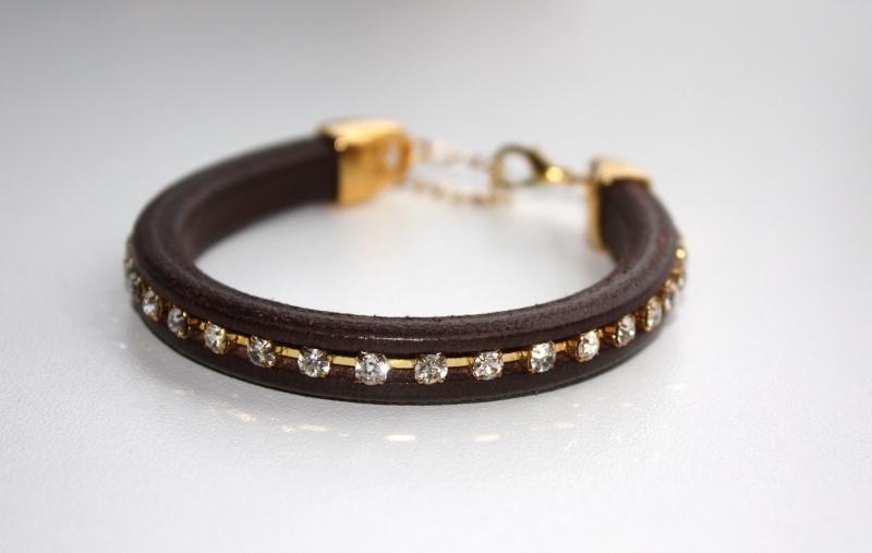 Leather Sparkle - Brown