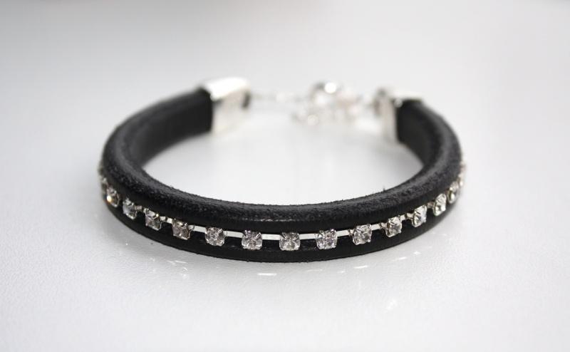 Leather Sparkle - Black