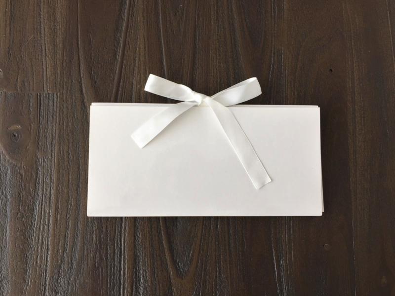 Cadeauverpakking - Envelop wit