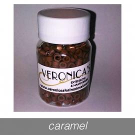 Micro Rings - 650 st. - caramel