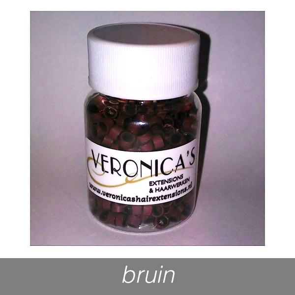 Micro Rings - 650 st. - bruin
