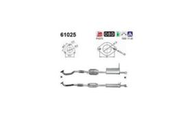 Katalysator Hyundai Santa FE EURO 4 ( Cross 311981 / AS 61025 / Kat-35