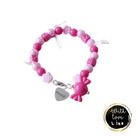 "XO ""Pink&candy"""