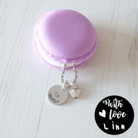 "XO Macaron ""Purple"""