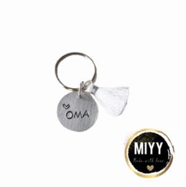 """Happy key coin """"Oma"""""""