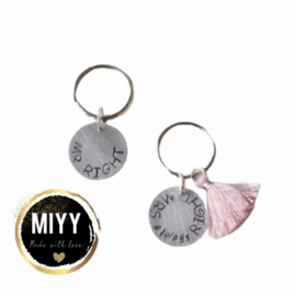 """Set happy key coin """"Mr right&mrs always right"""""""