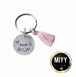 """Happy key coin """"Best mom"""""""