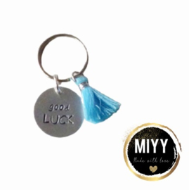 """Happy key coin """"Good luck"""""""