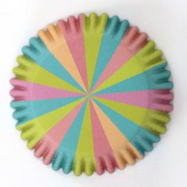 PME Foil Lined Baking Cups Unicorn Colours pk/30