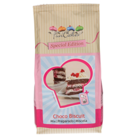 FunCakes Special Edition Mix voor Choco Biscuit 1kg