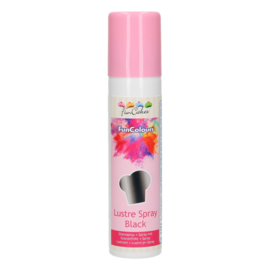 FunCakes FunColours Metallic Spray -Black- 100ml