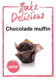 Chocolade Muffin 500gram