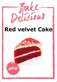 Bake Delicious Red velvet Cake 400 gram
