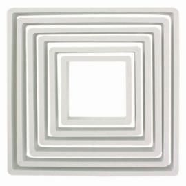 PME Plastic Cutter Square Set/6. Art.nr: PNS4