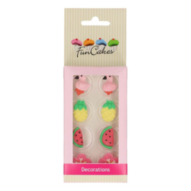 FunCakes Suikerdecoratie Tropical Set/8