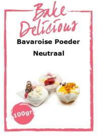 Bake Delicious Bavaroise Neutraal 100gr.