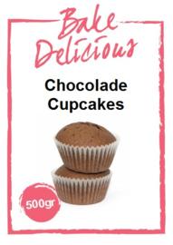 Bake Delicious Chocolade Cupcakes 500 gram