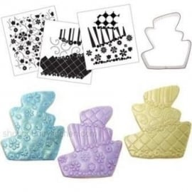 CK Cookie Cutter Texture Set - Topsy Turvy
