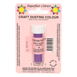 Sugarflair Craft dusting poeder African Violet