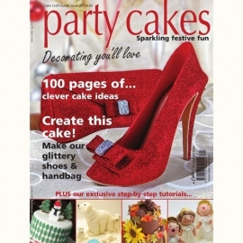 Cake Craft Guide - Party Cakes. Art.nr: CAKE21PARTY