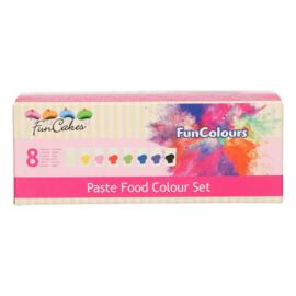 FunCakes Food Colour Paste Set/8