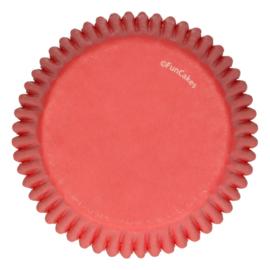 FunCakes Baking Cups -Red- pk/48