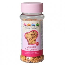 FunCakes Confetti Goud 60g