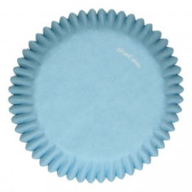 FunCakes Baking Cups -Light Blue- pk/48