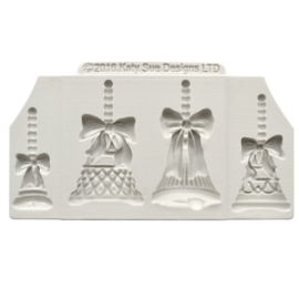 Katy Sue Embellishment Mould Christmas Bells