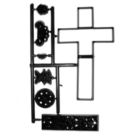 Patchwork Cutter Large Cross & Lace Set