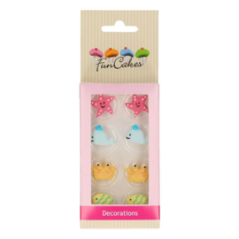 FunCakes Suikerdecoratie Sea Life Set/8