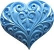 First Impressions Molds Filigree Heart