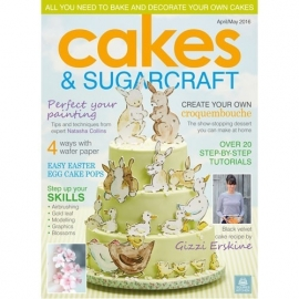 SK Cakes & Sugarcraft Magazine April/May 2016