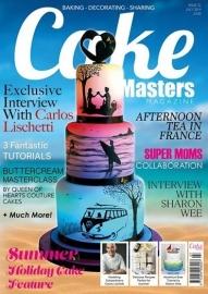 Cake Master Magazine juli 2014. art.nr: CM22