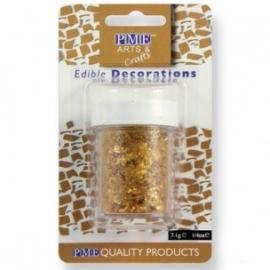 PME Glitter Flakes - Gold 7g.