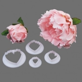 FMM Peony Cutter set/4. Art.nr: CUTPEON