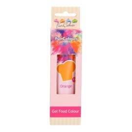 FunCakes Edible FunColours Gel - Orange 30g
