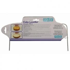 PME Cake Leveler Small / Taartzaag 30 cm. Art.nr: CL12