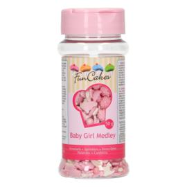 FunCakes Sprinkle Medley Baby Girl 50g