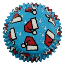 PME Baking Cups Santa Hats pk/60