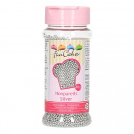 FunCakes Musketzaad Zilver 80g