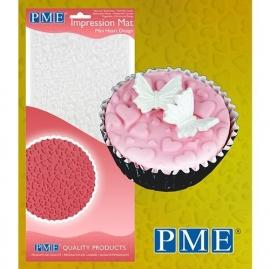 PME Impression Mat Mini Heart