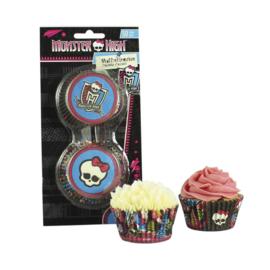 Cupcake Baking Cups Monsterhigh, 50 pieces