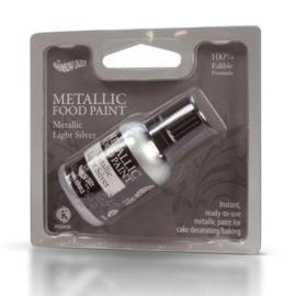 RD Metallic Food Paint Light Silver 25ml