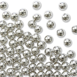 PME Sugar Pearls Silver 6mm 25g